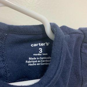 Carter's One Pieces - Cute Carter's 3mo baby girl onesie